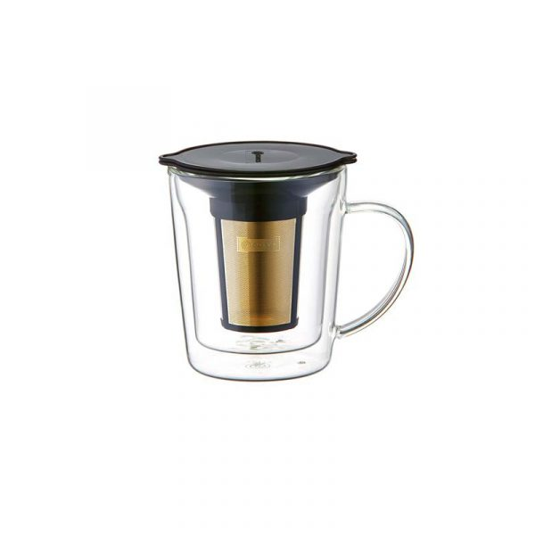 CORES C412 Gold Filter Doublewall Mug